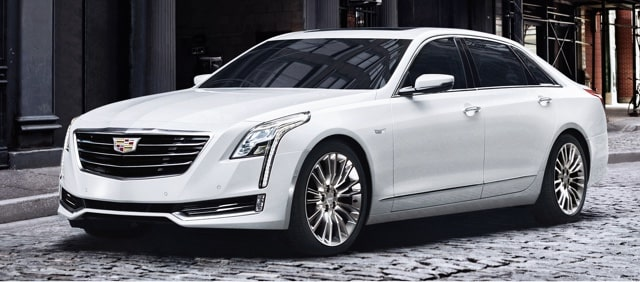 Cadillac Legacy Vehicles: CT6