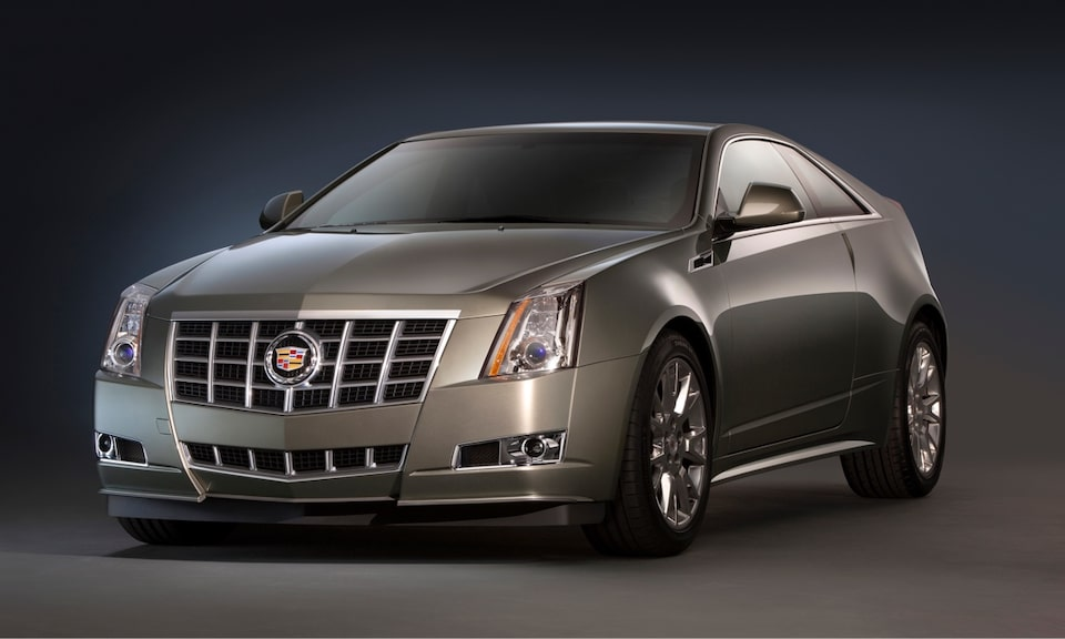 Cadillac Legacy Vehicles: CTS Coupe