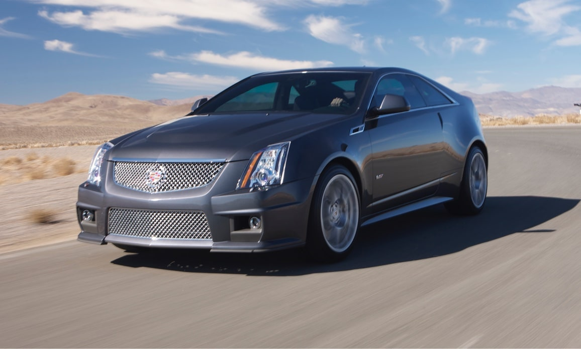 Cadillac Legacy Vehicles: CTS-V Coupe