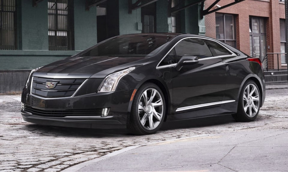 Cadillac Legacy Vehicles: ELR Coupe