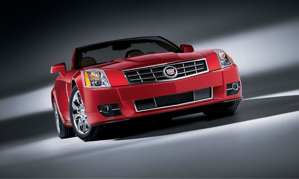 Cadillac Legacy Vehicles: XLR Coupe