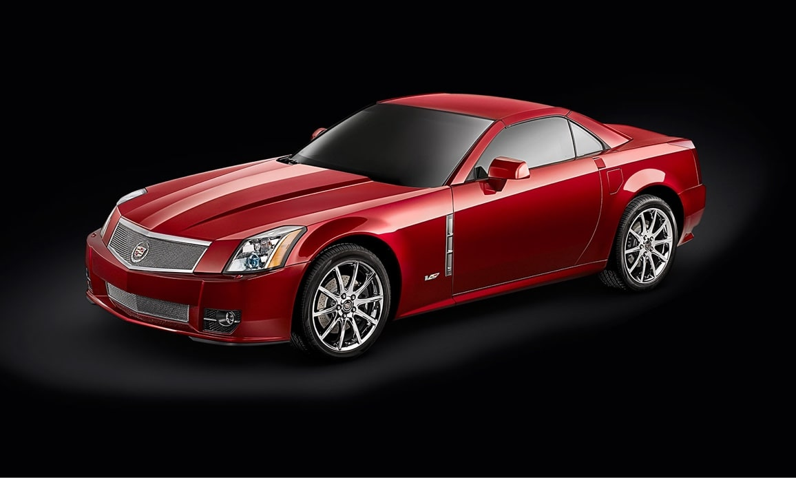 Cadillac Legacy Vehicles: XLR-V Coupe