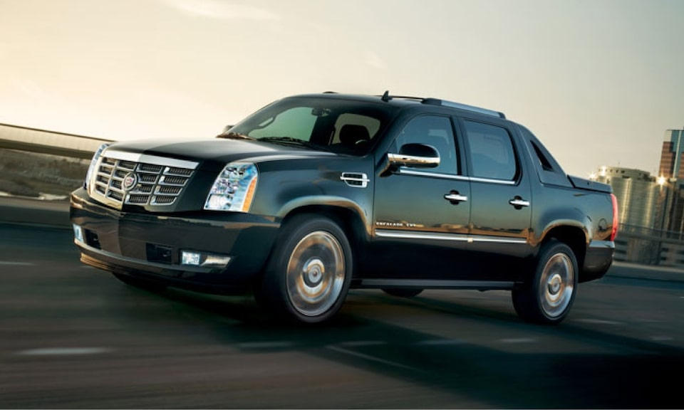 Cadillac Legacy Vehicles: Escalade EXT SUV