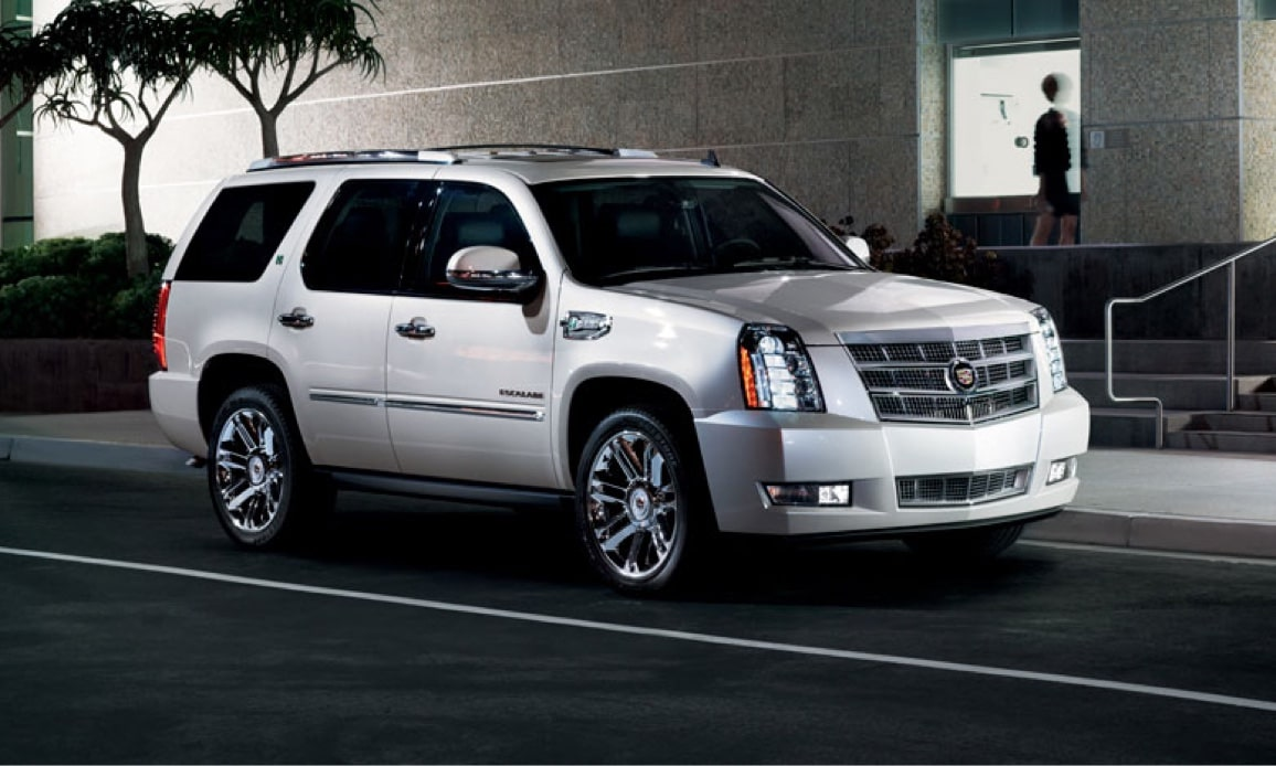 Cadillac Legacy Vehicles: Escalade Hybrid SUV