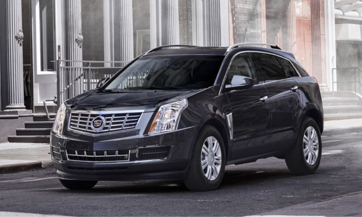 Cadillac Legacy Vehicles: SRX Crossover