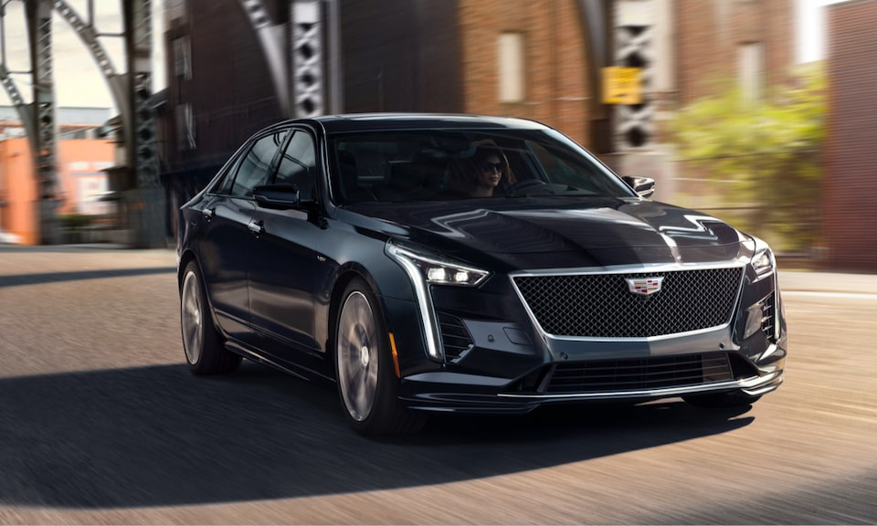 Cadillac Legacy Vehicles: CT6-V
