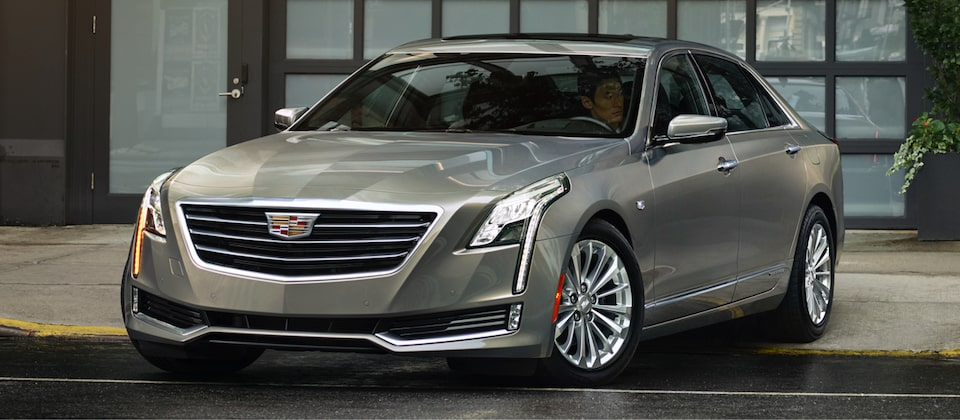 Cadillac Legacy Vehicles: CT6 Plug-in