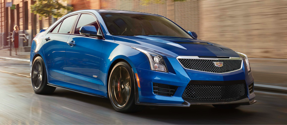 Cadillac Legacy Vehicles: ATS-V Sedan