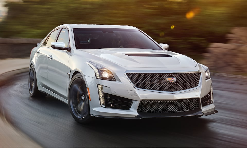 Cadillac Legacy Vehicles: CTS-V SEDAN
