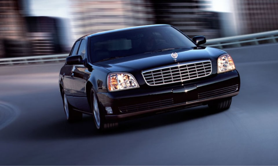 Cadillac Legacy Vehicles: Deville Sedan