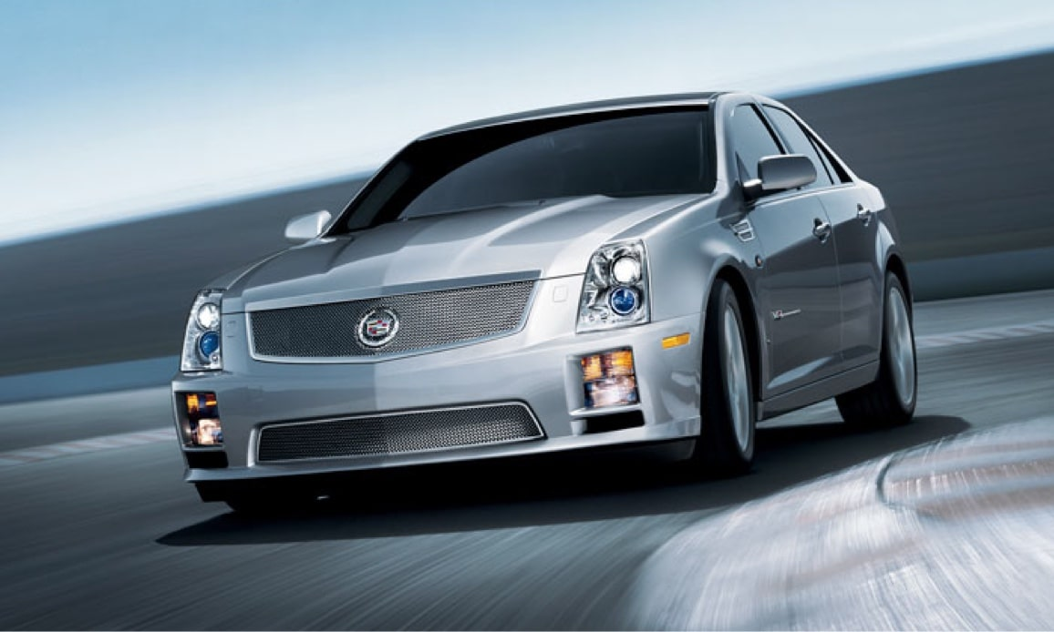 Cadillac Legacy Vehicles: STS-V Sedan