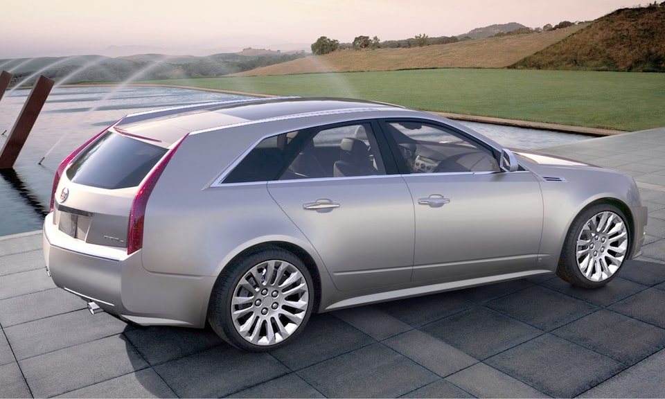 Cadillac Legacy Vehicles: CTS Sport Wagon