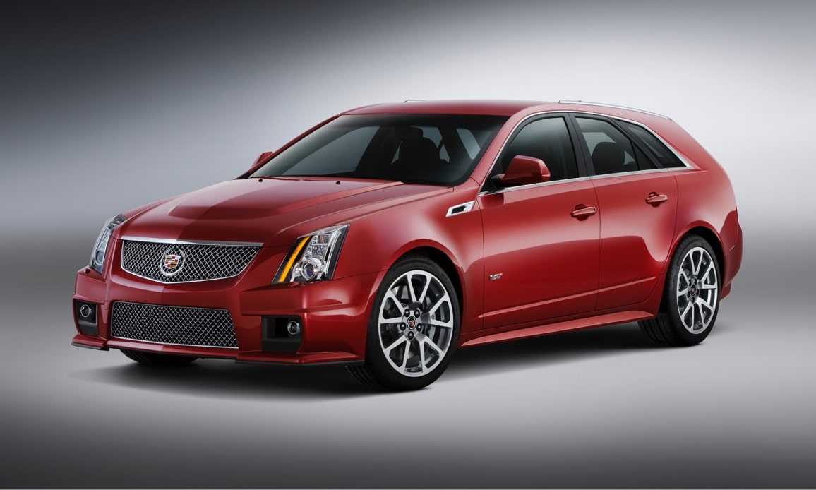 Cadillac Legacy Vehicles: CTS-V Sport Wagon