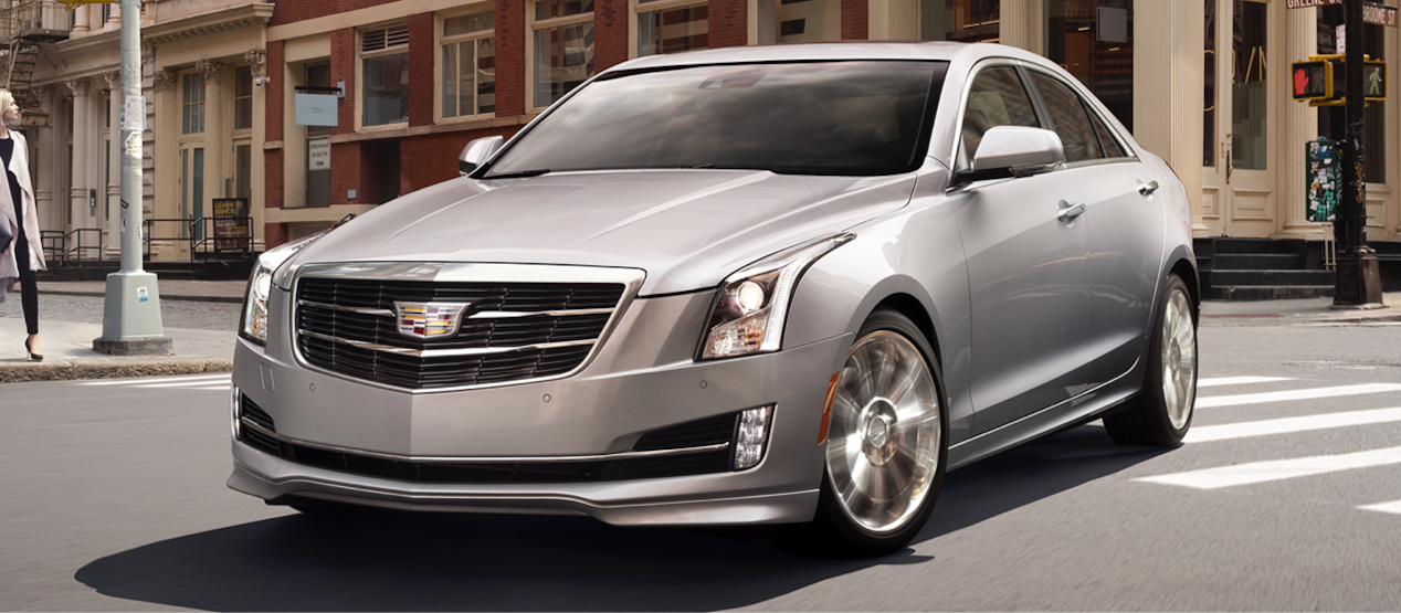 Cadillac Legacy Vehicles: ATS Sedan