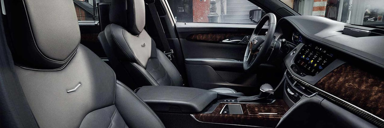2017 CT6 Plug-In Memory Seating | Cadillac