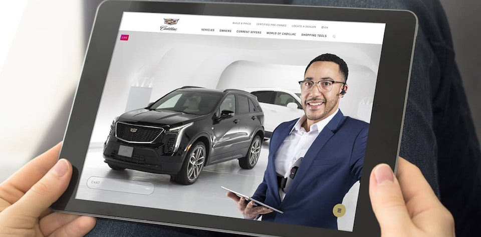 Cadillac Live: Shop From Your Home