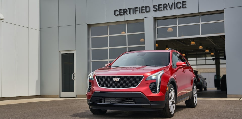 Cadillac SUV Outside Certified Service
