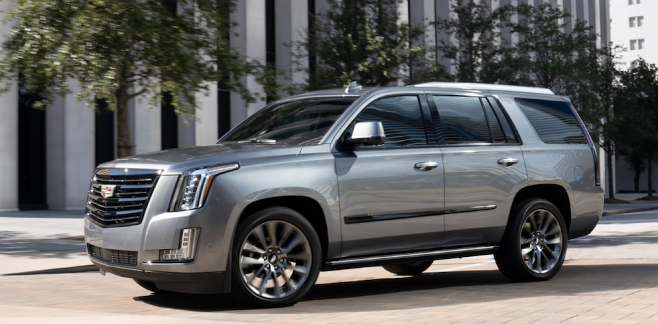 Cadillac Escalade Full-Size SUV Drivers Side Exterior View