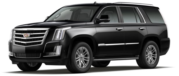 2020 Escalade Luxury Full-Size SUV Front Side Angle