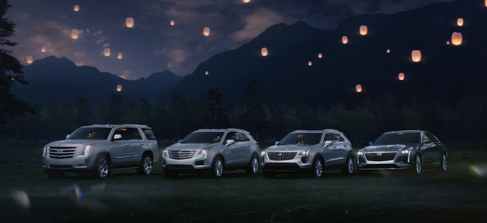 2019 Cadillac SUV and Sedan Lineup