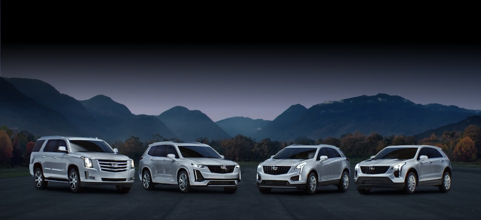 Cadillac Luxury Crossover and SUV Lineup