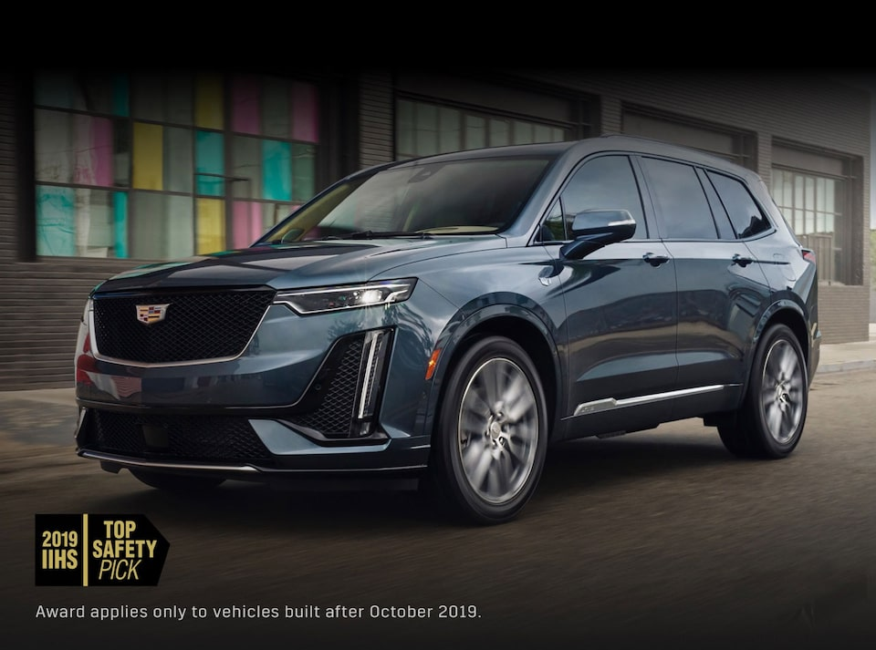 Cadillac XT6  SUV Front Side Exterior
