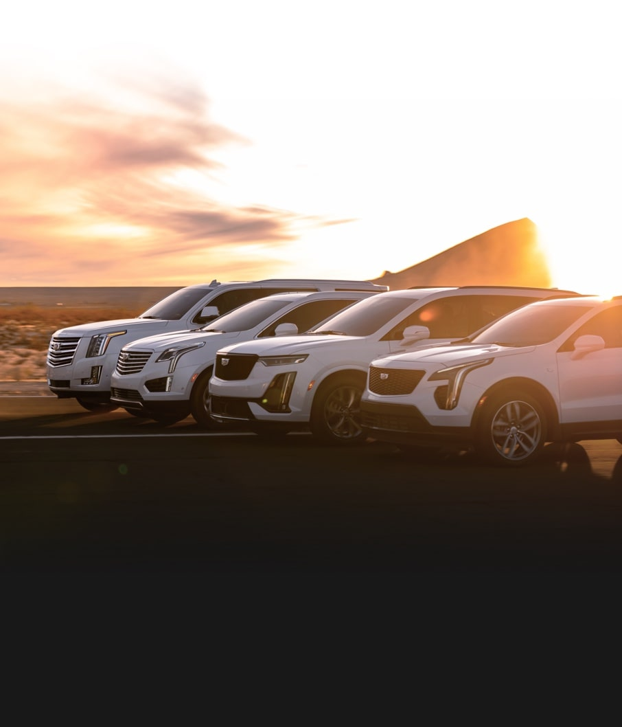 RISE ABOVE, THE UNCOMPROMISING CADILLAC SUVS