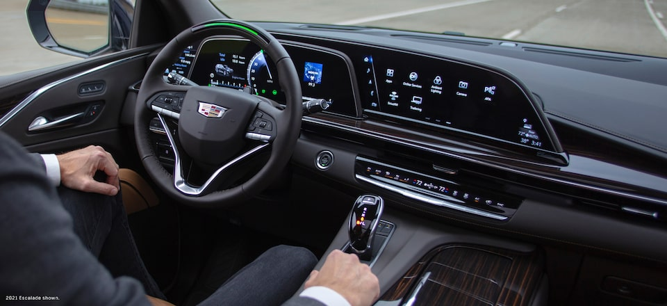 Cadillac Vehicle Interior