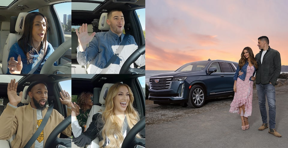 Celebrities Let Go & Try Cadillac Super Cruise Feature