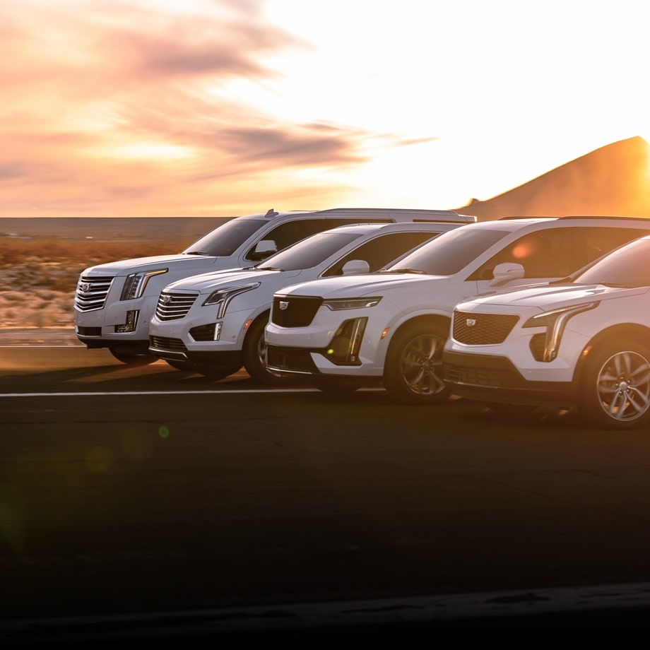 Cadillac Escalade, XT6, XT5, XT4 Vehicle Lineup