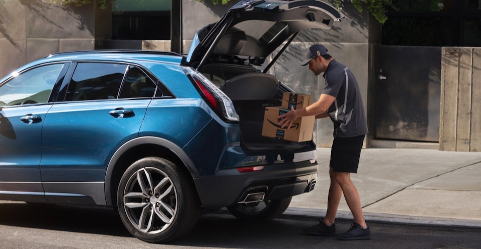Cadillac: Amazon Key In-Car Delivery