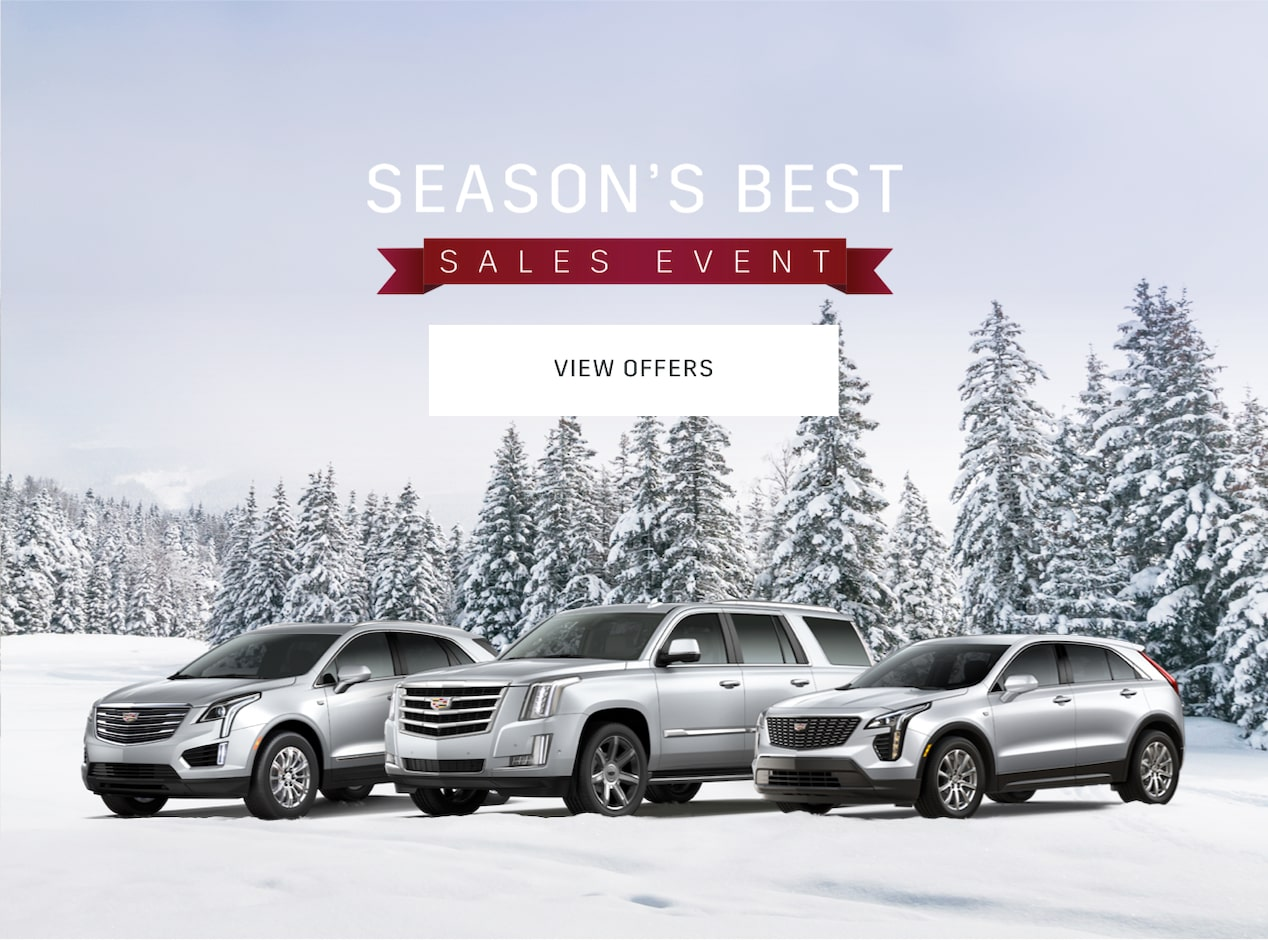 Cadillac Season S Best Event Offers