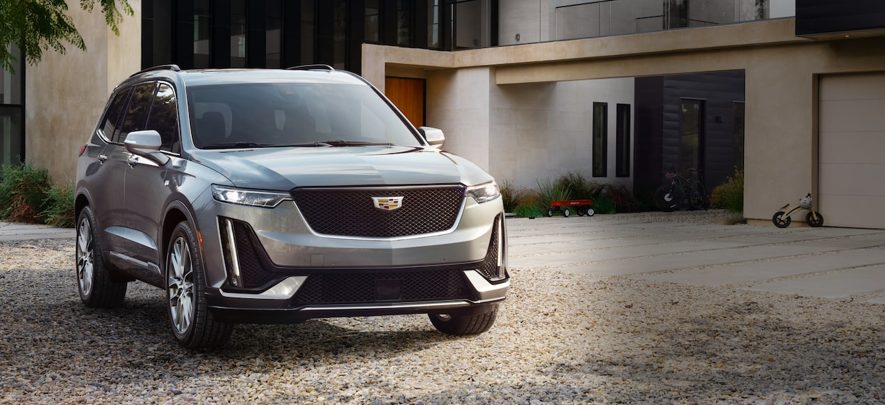 Cadillac XT6  SUV Side Front Exterior