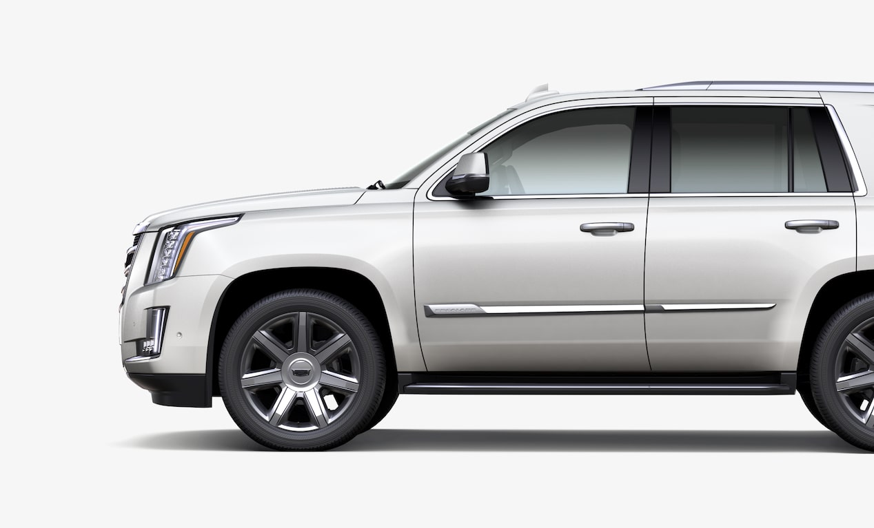 Side View Of 2019 Escalade Suv