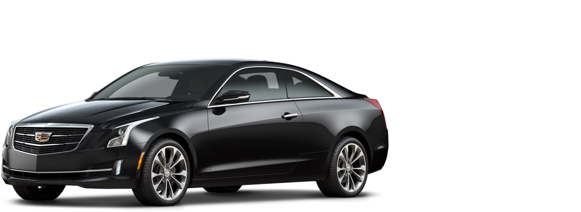 Cadillac ATS Coupe: black raven