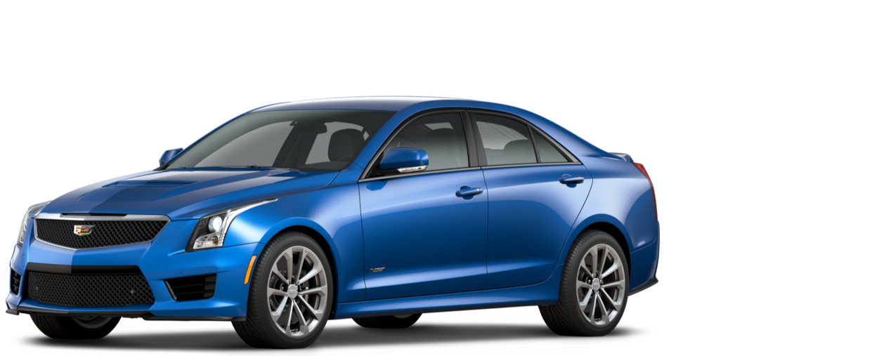 Cadillac ATS-V Sedan: blue me away