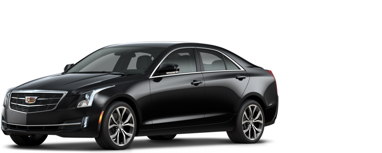Cadillac ATS Sedan: black raven