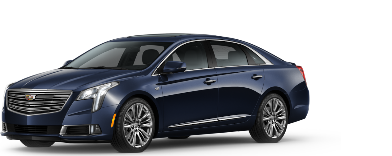 Cadillac XTS Sedan: adriatic blue