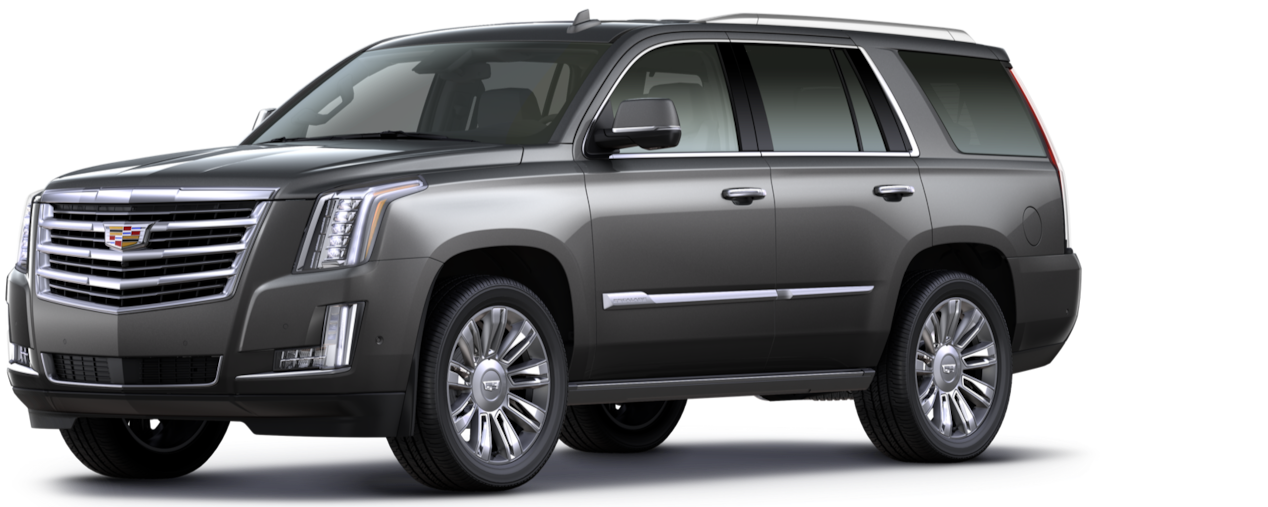 Cadillac Escalade SUV: dark granite metallic