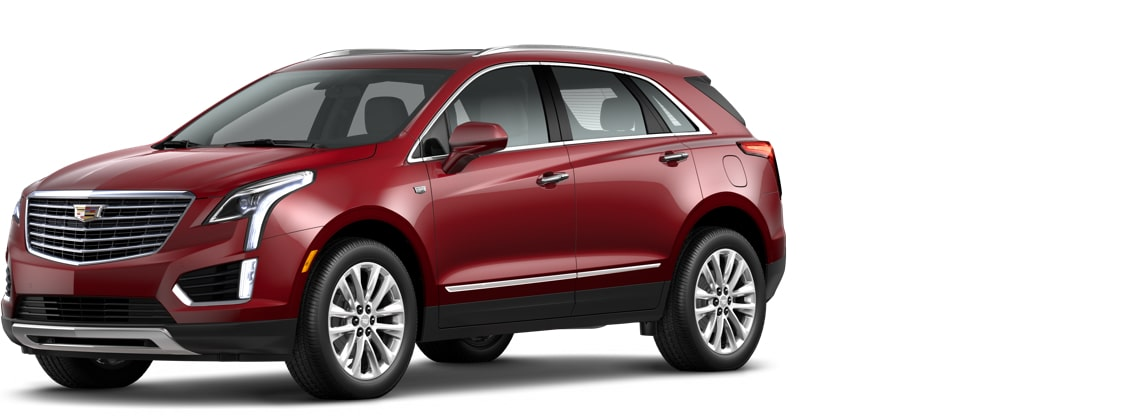 Cadillac XT5 Crossover: red passion