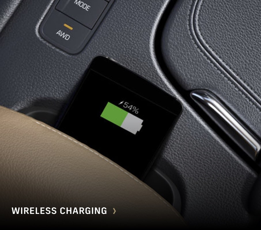 Cadillac: Wireless Charging