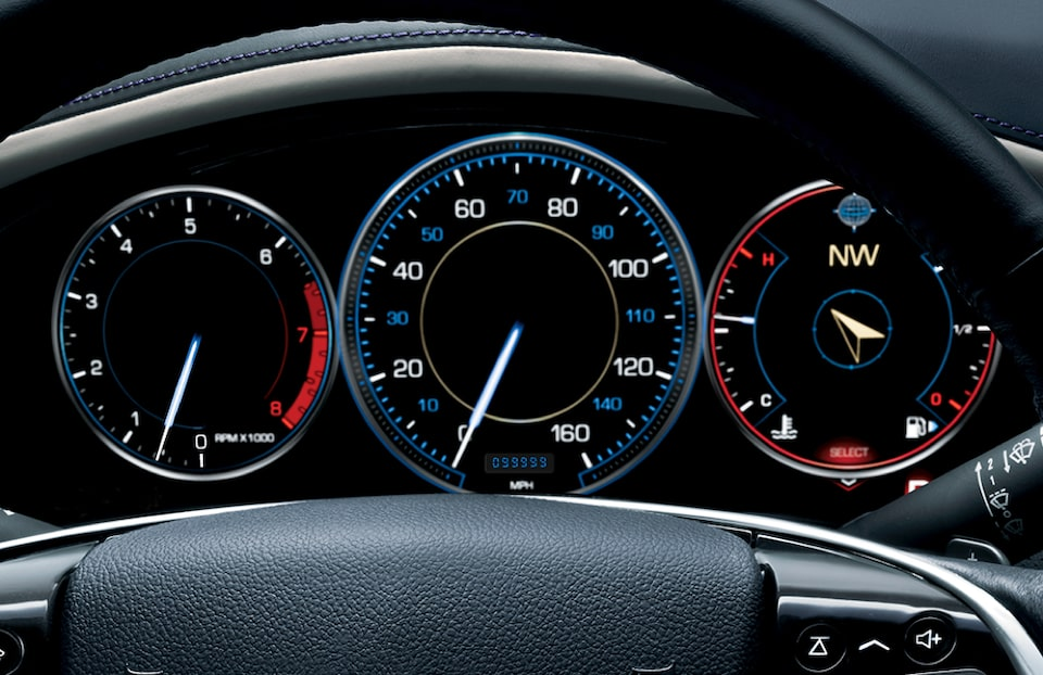 Cadillac Excess (XS) Wear Lease Dashboard Image