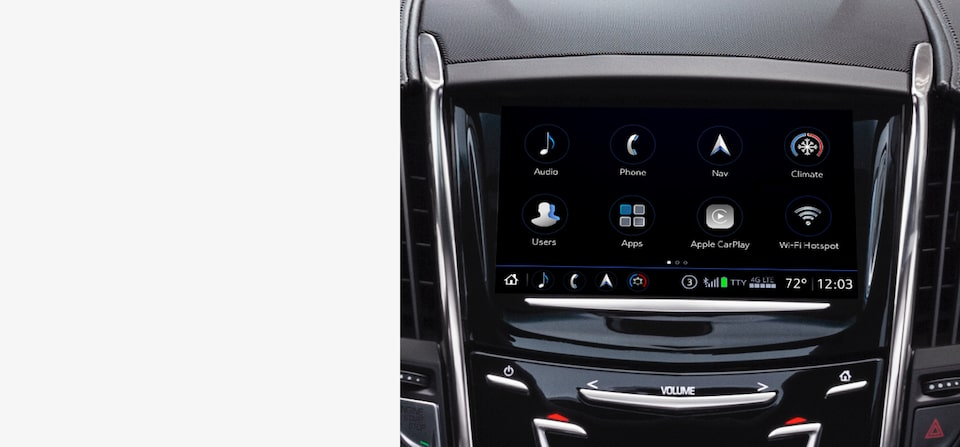 Cadillac Ownership Technology: Touch Screen Navigation System