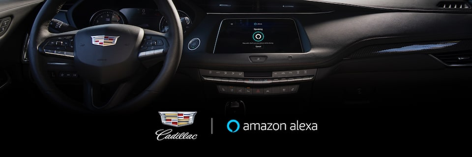 Cadillac Ownership Technology: Key by Amazon In-Car Delivery