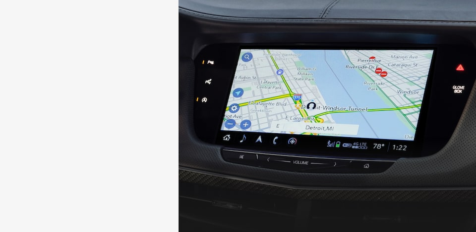 Cadillac User Experience 3D Maps