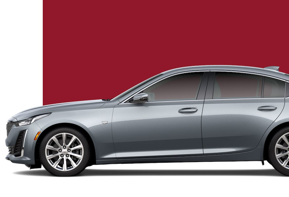 2020 Cadillac CT6 Full-Size Sedan Side View