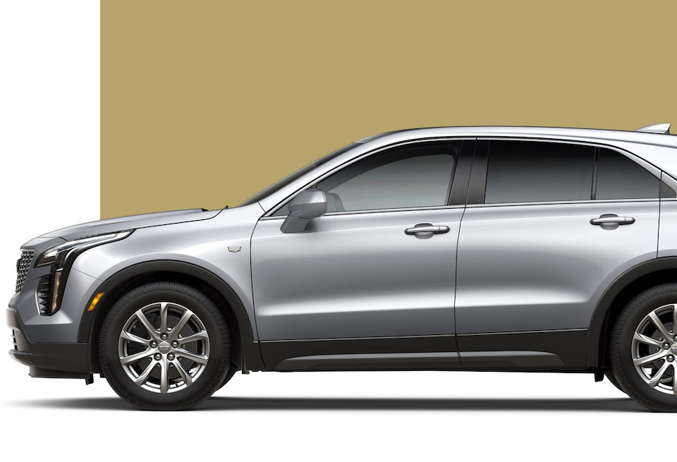 2020 Cadillac XT4 Compact Luxury SUV side view