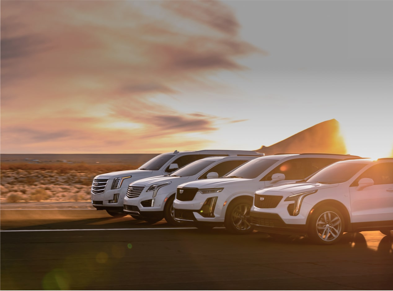 Cadillac Crossovers and SUVs Vehicle Lineup