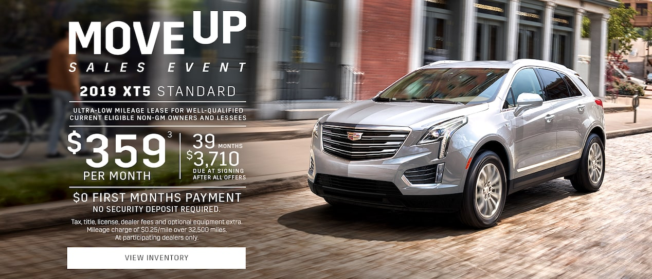 Current Offers & Special Deals | Cadillac