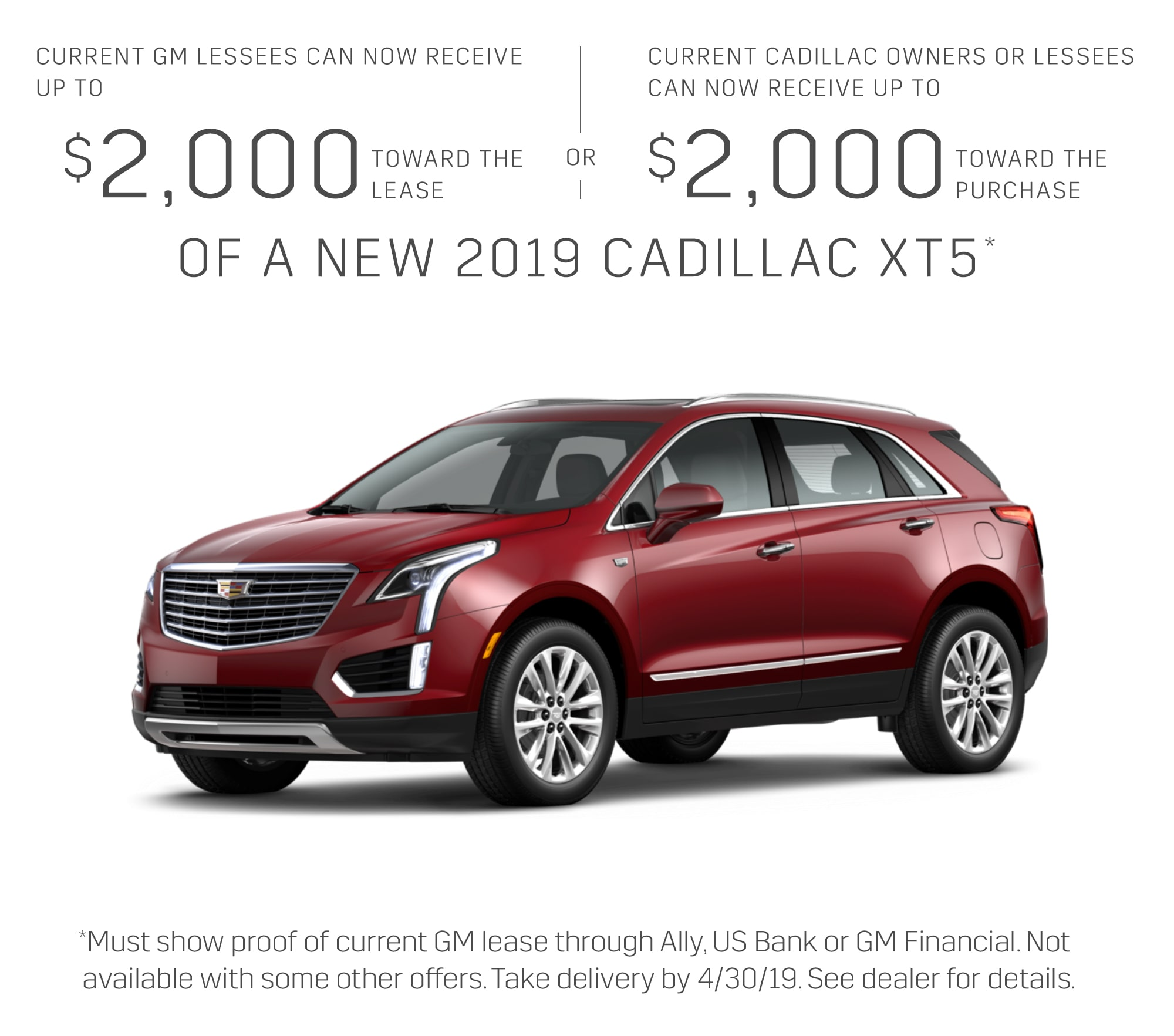 2019 Cadillac Xt5 Fwd Preferred